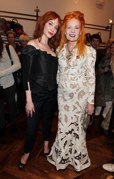 Кристина Хендрикс и  Вивьен Вествуд фото 2011