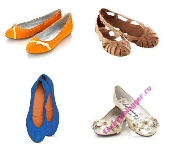 Модные туфли лето 2011