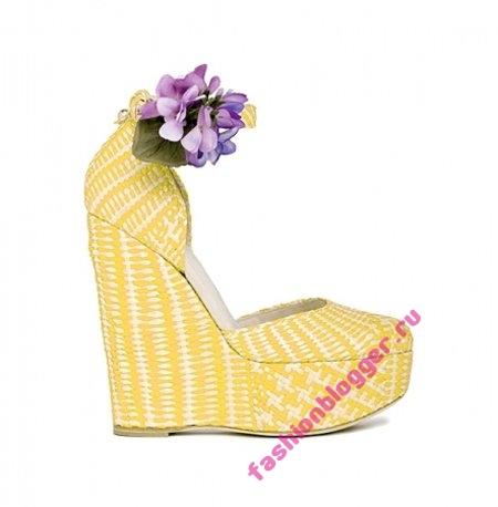 С чем носить туфли на платформе