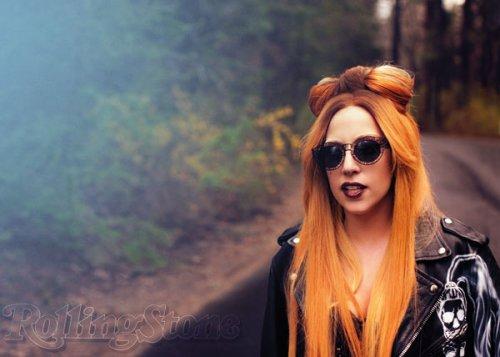 Lady Gaga на обложке журнала Rolling Stone