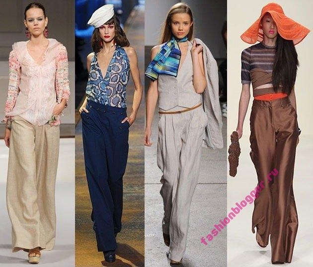 Модные модели брюк 2011