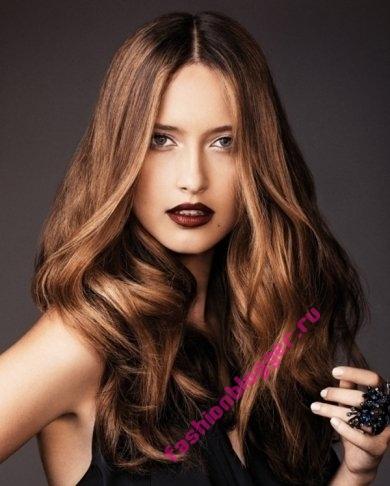 Стрижки для длинных волос без челки 2011