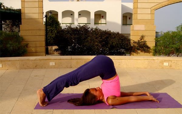 Избавиться от целлюлита с помощью йоги