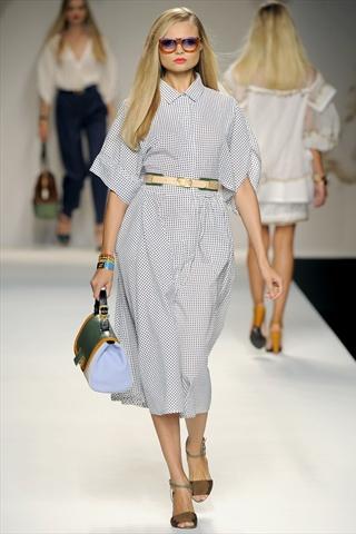 Мода лето 2011: платье-рубашка