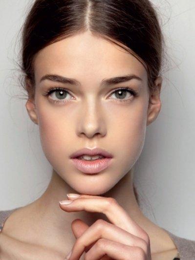 макияж в стиле nude