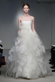 Свадебные платья  Vera Wang весна 2012