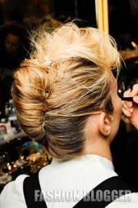 Прически вечерние на средние волосы 2011