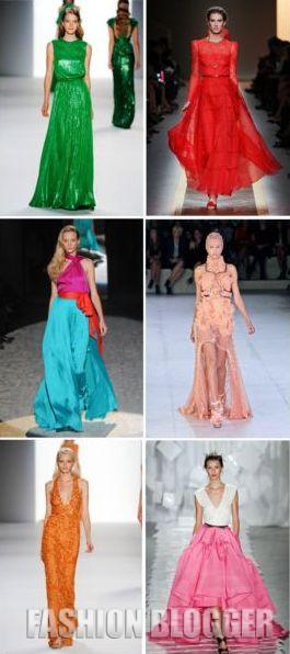 Мода 2012: платья