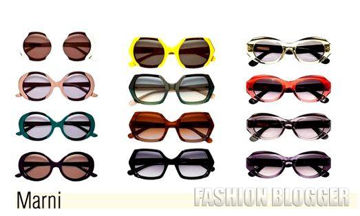 Модные очки весна-лето 2012