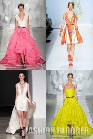 Модная одежда весна 2012
