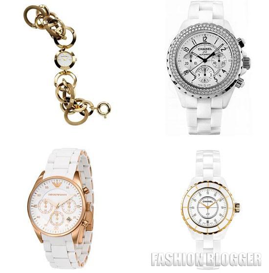 Модные часы 2012