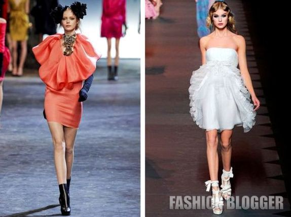 Коктейльные платья 2012