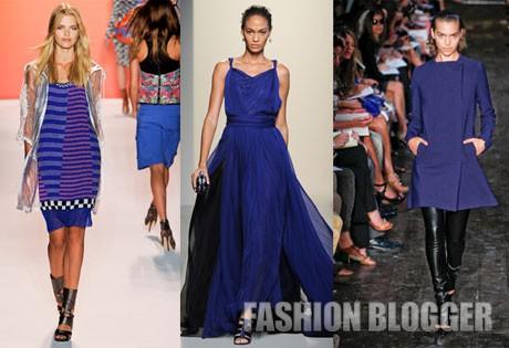 Модные оттенки 2012