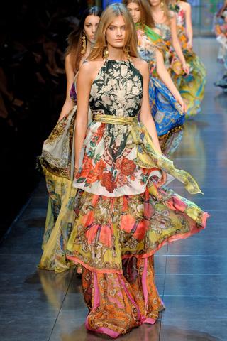 Платья в пол 2012, фото (4)