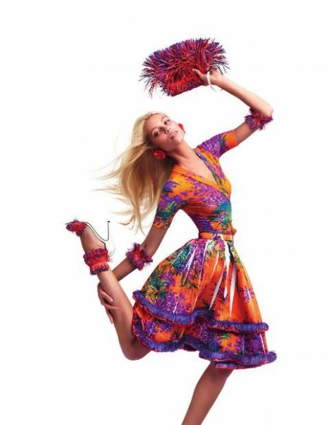 Цветочный принт в одежде
