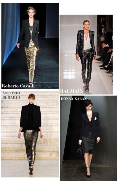 С чем носить черный пиджак