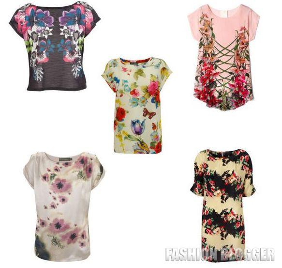 Модные футболки лето 2012