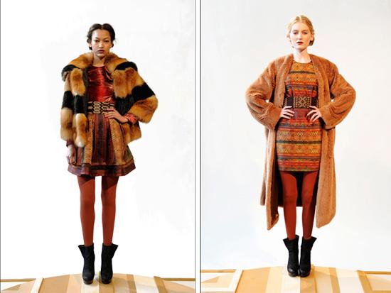 Модные дубленки 2012-2013