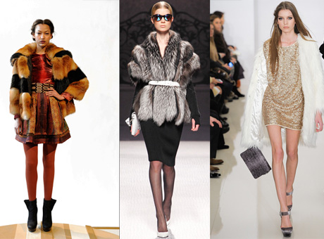 Модные шубы 2013 года