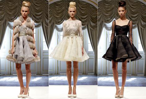 Короткие платья на Новый год 2013