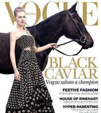 Юлия Нобис на обложке Vogue Австралия
