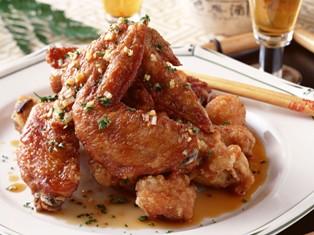 чкмерули — цыпленок с чесноком