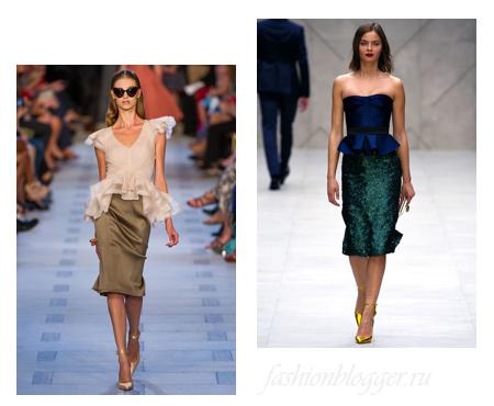 Модные образы 2013