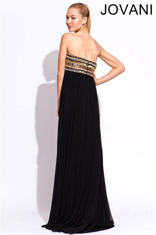 Черное платье в пол, фото (12)
