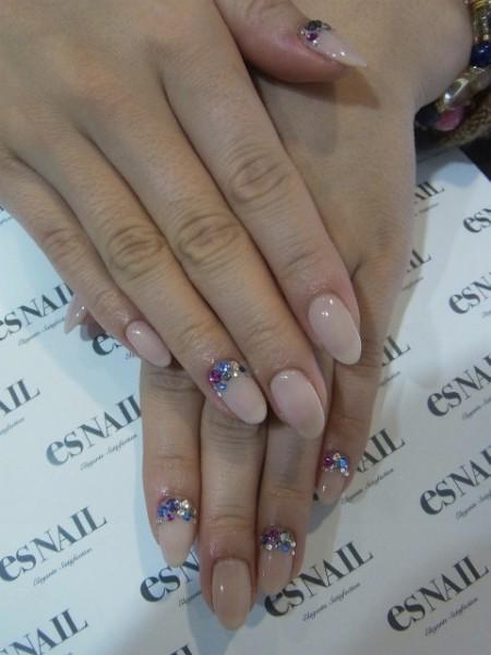 Гелевые ногти 2014