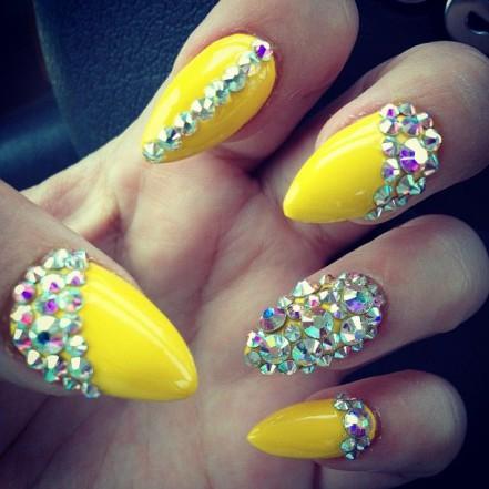 Гелевые ногти 2014 (10)