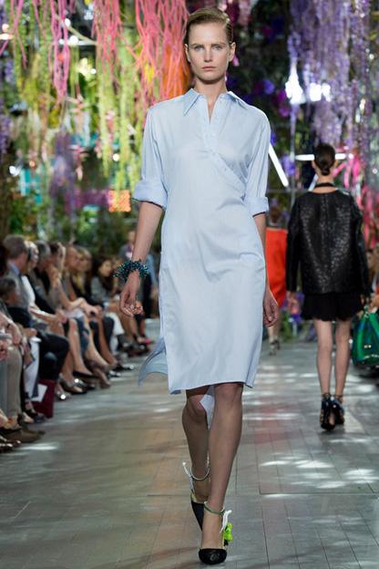 Синее платье 2014