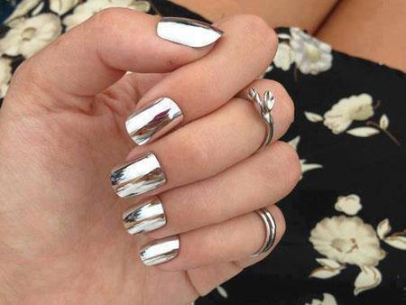 Короткие ногти 2014