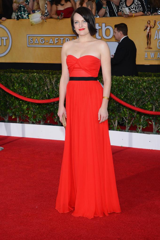 Красные платья 2014 (10)