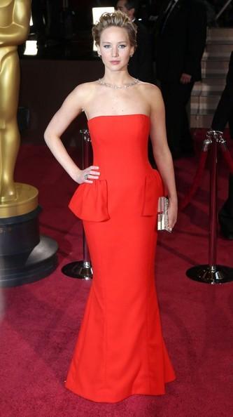 Красные платья 2014 (7)