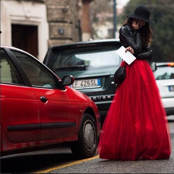 Красные платья 2014 (6)