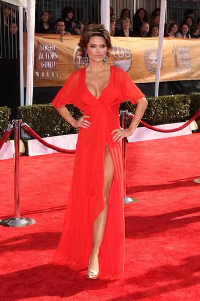 Красные платья 2014 (2)