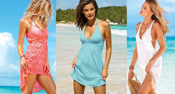 Пляжные платья 2014, фото