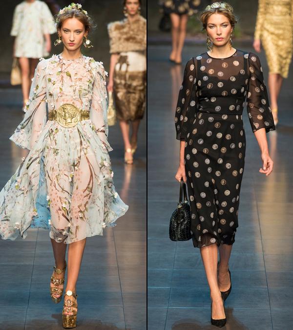 Шифоновые платья 2014