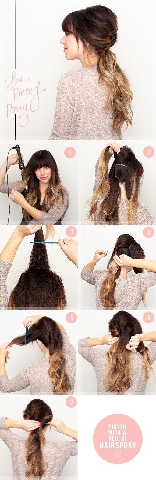 Прически на пышные волосы (10)