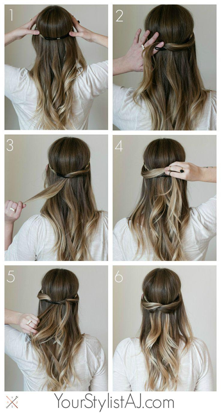 Прически на пышные волосы (9)
