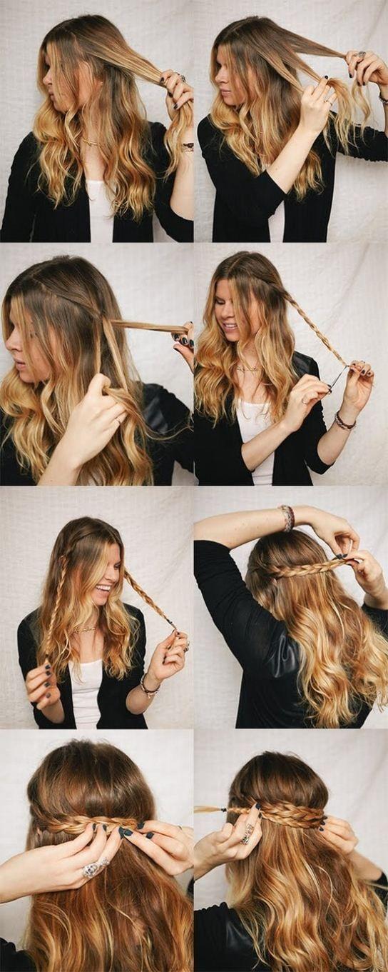 Прически на пышные волосы (8)