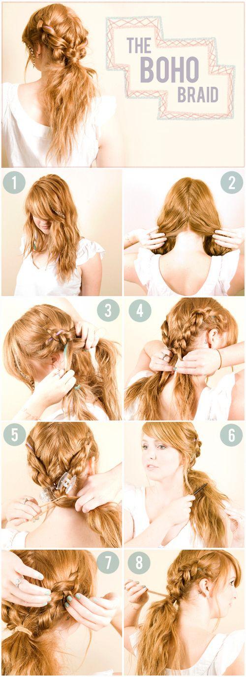 Прически на пышные волосы (7)