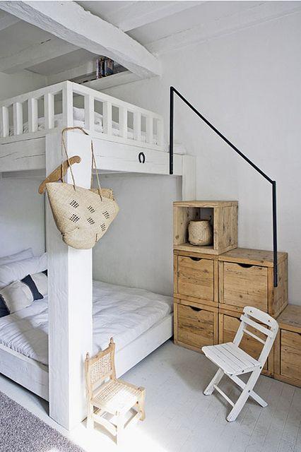 Двухъярусная кровать своими руками, фото и видео (7)