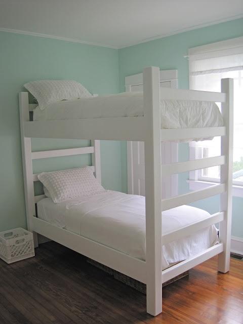 Двухъярусная кровать своими руками, фото и видео (6)