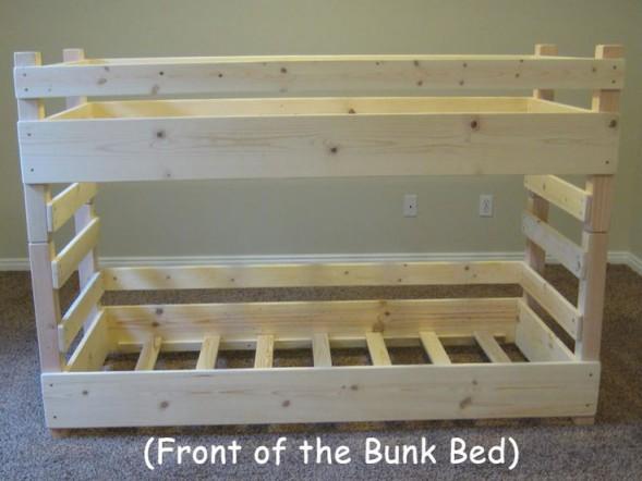 Двухъярусная кровать своими руками, фото и видео (5)