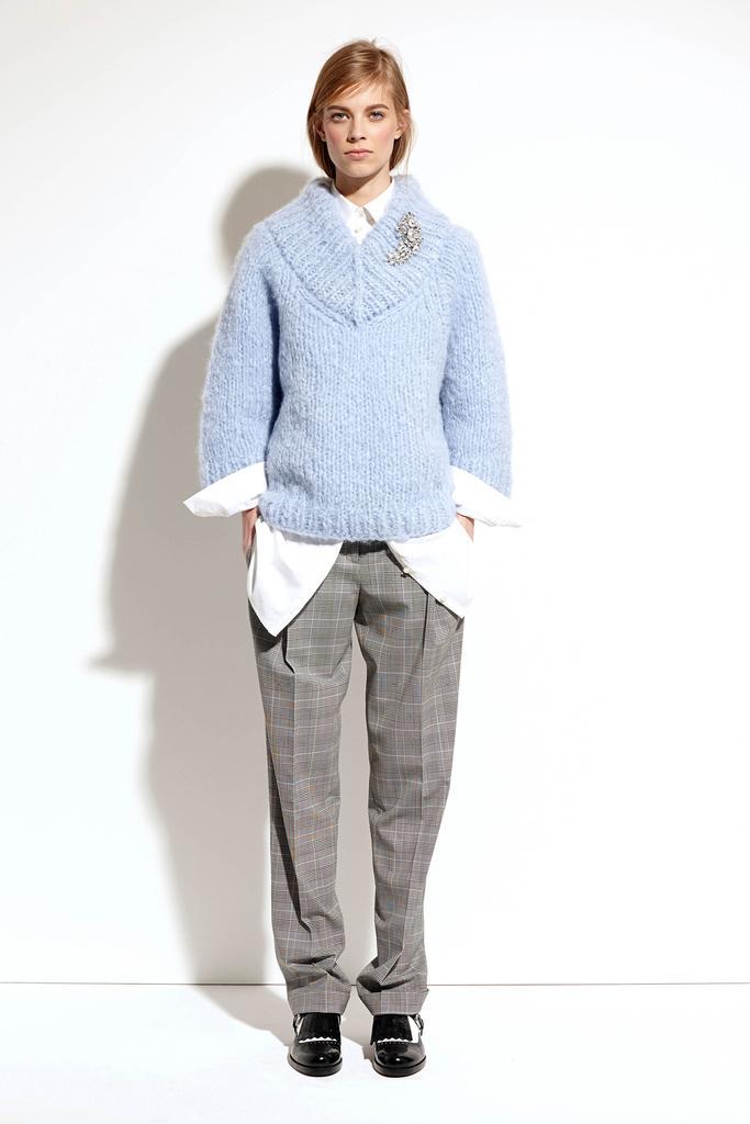 Вязаные свитера 2015