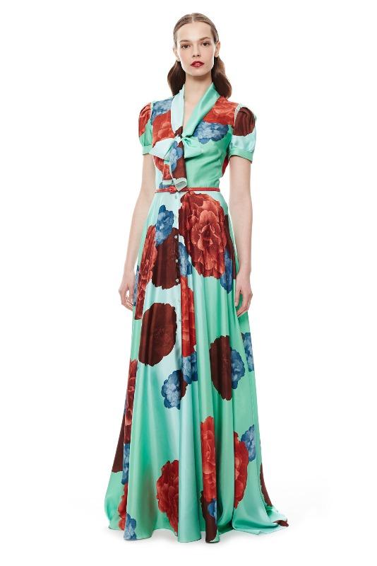 Вечерние новогодние платья 2015 (7)