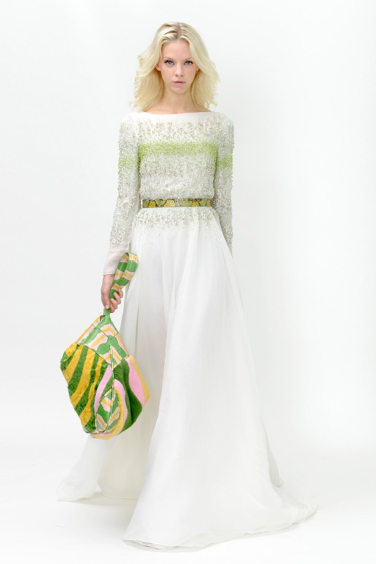 Вечерние новогодние платья 2015 (6)