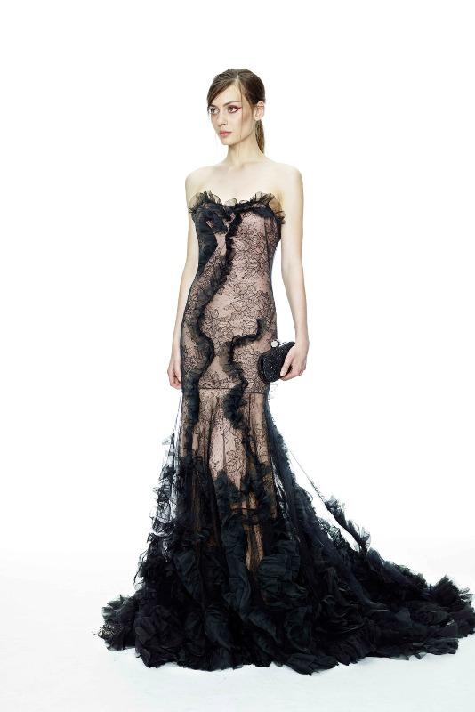 Вечерние новогодние платья 2015 (4)