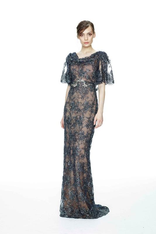 Вечерние новогодние платья 2015 (3)